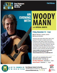 Woody Mann Flyer